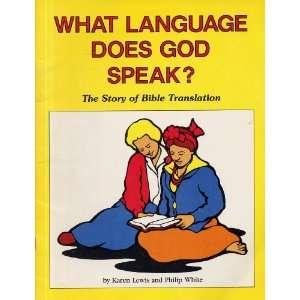 speak? The story of Bible translation (Childs Coloring Book) Karen
