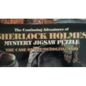 Adventures of Sherlock Holmes Mystery Jigsaw Puzzle Toys & Games