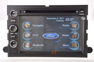 2011 2010 09 08 07 Ford Expedition DVD GPS Navigation Radio Double 2