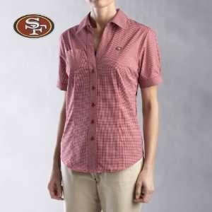 Cutter & Buck San Francisco 49Ers Womens Short Sleeve