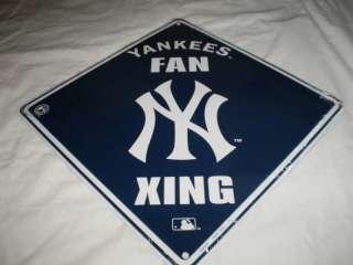 Metal Sign New York Yankees 12x12 Fan Xing Crossing MLB