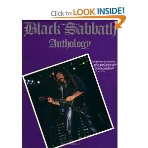 Black Sabbath Anthology [Paperback] Black Sabbath Books