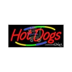 Hot Dogs Neon Sign