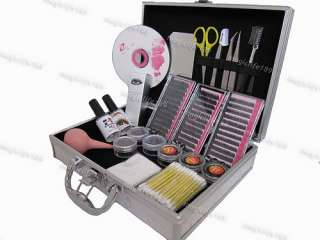 NEW T28 Korea Eyelash lash Extensions Kit wi Case&DVD |