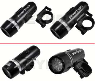 2in1 Waterproof LED Bike Head Light+Rear Flashlight,184