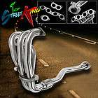 STAINLESS STEEL MANIFOLD HEADER/EXHAUST 93 97 TOYOTA COROLLA 1.6L 4A