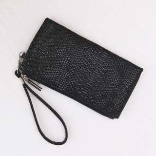 New Fashion Womens Mini Zip Wristlet Wallet Clutch Purse Bag Handbag