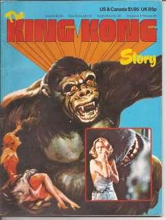 The King Kong Story Faye Wray Jessica Lange Merian C Cooper Willis O