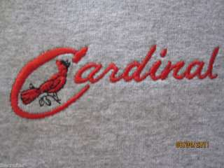 Cardinal Vintage Travel Trailer Embroidered Tshirt