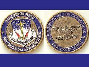 341st Space Wing Commander Air Force Challenge Coin C_S