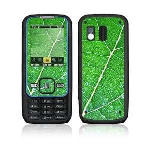 Samsung Rant Skin   Green Leaf Texture