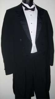 Lord West Tuxedo Tailcoat 39S Jacket Pants 28 29 30 31 32 33 34 35