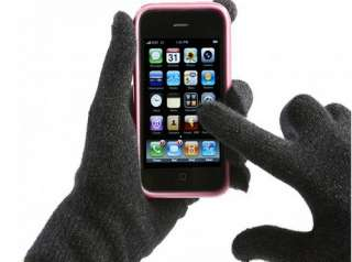 White Skeleton Unisex Winter Gloves Touch Screen Gloves for iPhone
