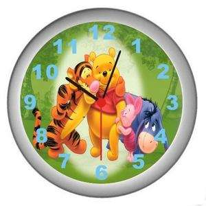 New Winnie The Pooh Bear Decor Wall Clock White