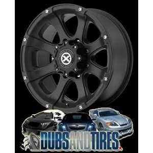 AMERICAN RACING ATX wheels LEDGE Teflon Black wheels rims Automotive