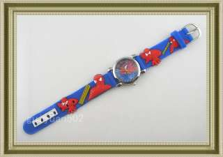 Spider Man Marvel Child Boy Quartz Wrist Watch Xmas SB