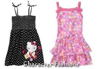 HELLO KITTY DRESS Size 18 24 Months 3T 4T 5T Shirt Girls TODDLER