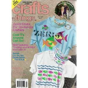 Crafts N Things Magazine July 1992 Books