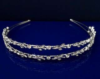 Wedding Bridal Homecoming Prom Party Crystal Tiara Headband C5346