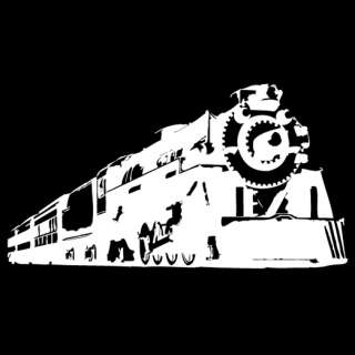 Train Vinyl Diecut Decal (542) locomotive