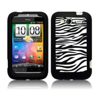 London Magic Sore   HC Wildfire S Black Silicone Zebra Case Cover