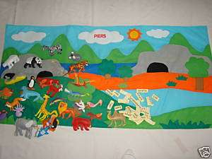 Wild Animal Wall Chart 30 Plush Dinosaur Personalized