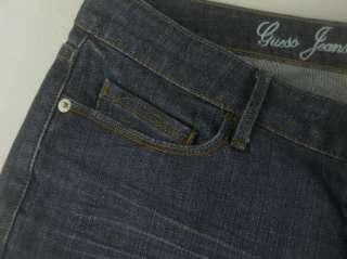 Guess Belmont Flare Leg Stretch Denim Jeans Womens Pant Sz 27 28 KHDG