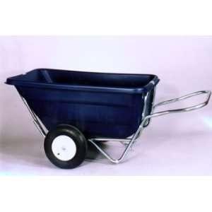 Cart 11.5 cu. ft. Rib Tires w/ tube (Black Tub) Patio, Lawn & Garden