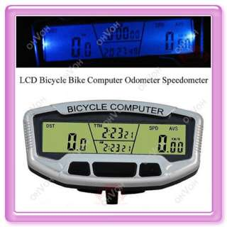 wholesale contact us digital bicycle bike lcd computer odometer