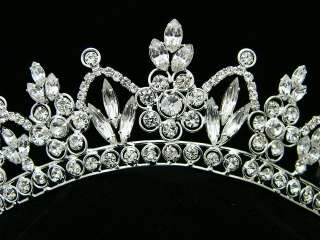 Wedding Bridal Swarovski Crystal Crown Tiara 7251