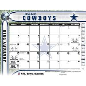2011 Dallas Cowboys   Blotter Calendar: Perfect Timing   Turner