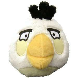 Angry Birds 5 Plush White Bird With Sound