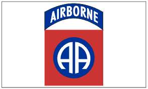 x5 82nd AIRBORNE DIVISION FLAG US ARMED FORCES ARMY OUTDOOR INDOOR