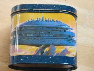 Oval STORAGE TIN 80 Star Wars Cloud City McQuarrie art