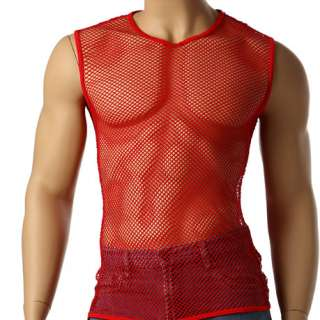 Vintage 80s Men Sleeveless Muscle High Quality T Shirt
