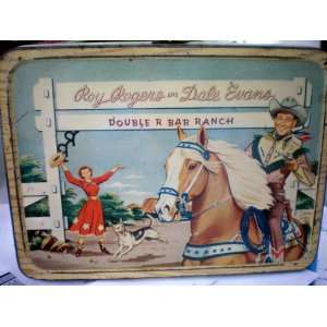 COLLECTIBLE    Roy Rogers and Dale Evans Double R Bar Ranch Lunch Box