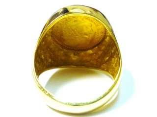 Dos Y Medio Mexican Coin Ring