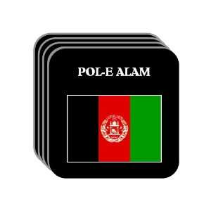 Afghanistan   POL E ALAM Set of 4 Mini Mousepad Coasters