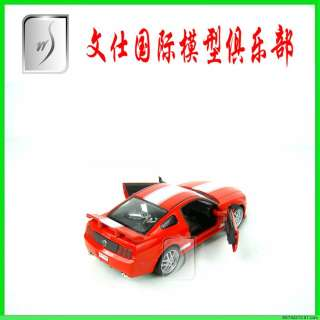 32 China Ford Mustang Red Diecast Pull Back Model