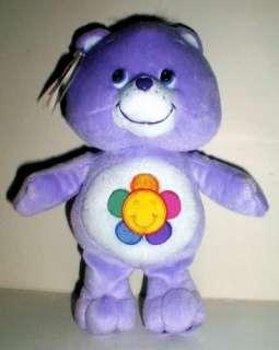 """NEW 2004 Care Bears 10 """" plush HARMONY BEAR MwTs"""