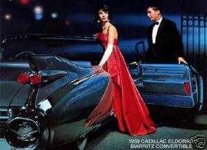 1959 CADILLAC ELDORADO BIARRITZ CONVERTIBLE (BLACK)