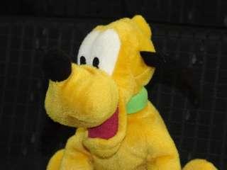 Plush Mickey Mouse Disney Dog Pluto Stuffed Animal Toy