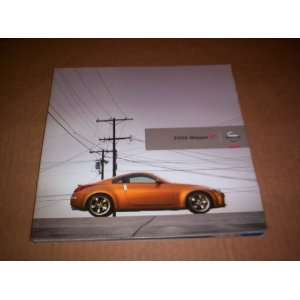 BOOKLET (NISSAN+Z+2006+DEALERS,SHOWROOM BOOKLET) NISSAN Books