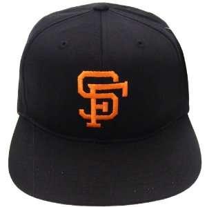 San Francisco Giants Retro Snapback Cap Hat All Black