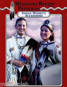 Missouri River Native American Indian Womens Accessories, Bags Sewing