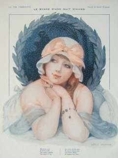 Deco Original La Vie Parisienne 1917 Gerda Wegener