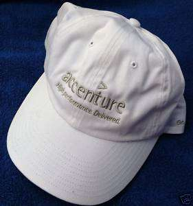 Ballcap hat Ball cap ACCENTURE   GO ON BE A TIGER WOODS