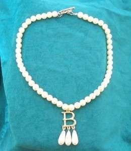Collar de perla de anna Bolena (Betty fea), oro plateó B