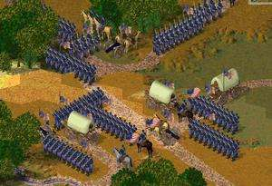 North vs South The Great American Civil War PC CD game