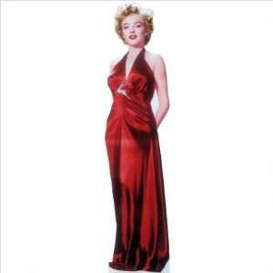Advanced Graphics #316 Marilyn Monroe Red Gown Life Size